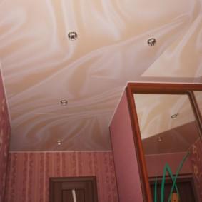 натяжной потолок в коридоре идеи дизайн