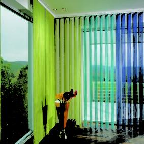 нитяные шторы на кухне идеи дизайна