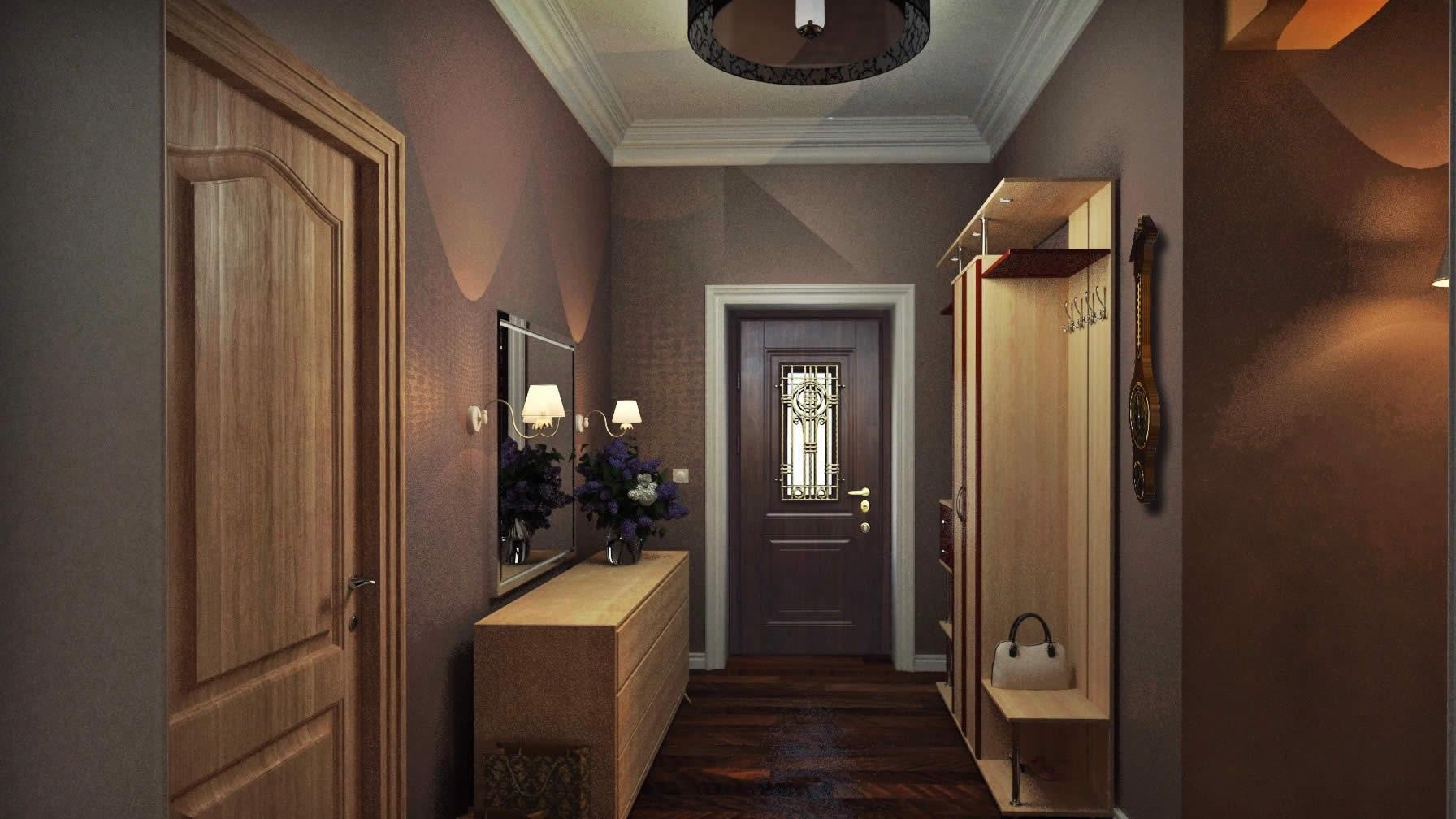 гостевом обои для оформление коридора в квартире фото вверх руслу, почти