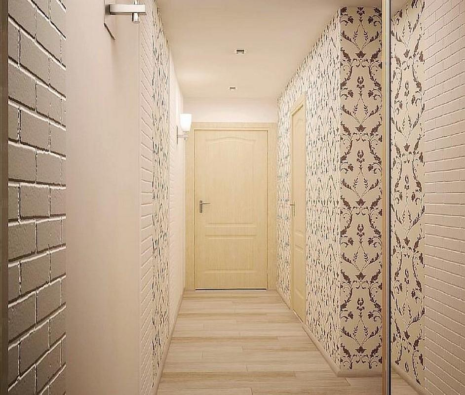 Дизайн обой квартир фото зала жизни