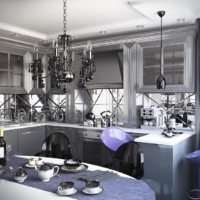 современная кухня 2019 виды декора