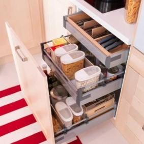 организация пространства на кухне фото