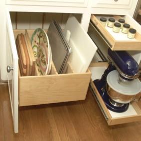 организация пространства на кухне декор идеи