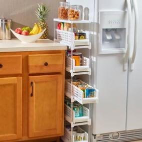 организация пространства на кухне идеи декор