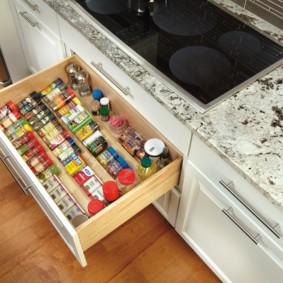 организация пространства на кухне интерьер идеи