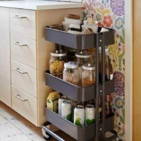 организация пространства на кухне идеи интерьер