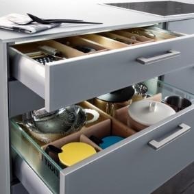 организация пространства на кухне идеи интерьера