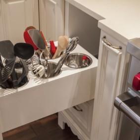 организация пространства на кухне идеи фото