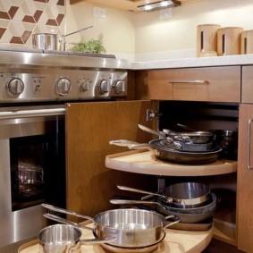 организация пространства на кухне фото идеи