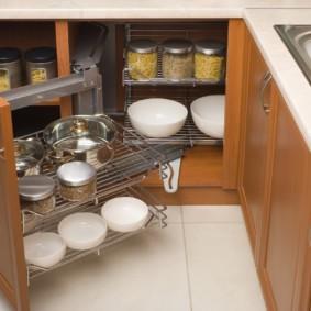 организация пространства на кухне оформление