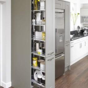 организация пространства на кухне фото оформления