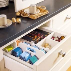 организация пространства на кухне оформление идеи