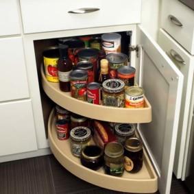 организация пространства на кухне варианты фото