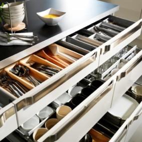 организация пространства на кухне дизайн