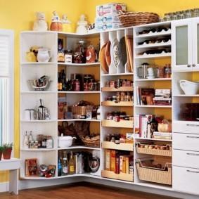 организация пространства на кухне дизайн фото