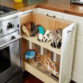 организация пространства на кухне фото вариантов