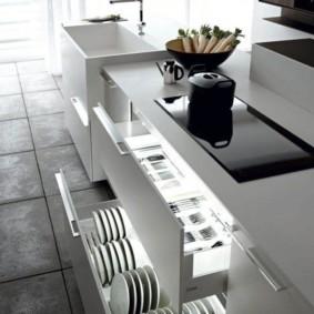 организация пространства на кухне идеи вариантов