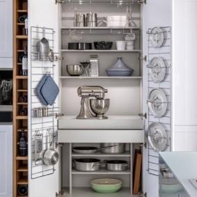 организация пространства на кухне виды фото