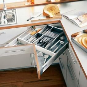 организация пространства на кухне идеи виды