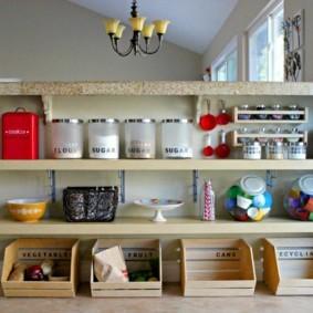 организация пространства на кухне фото дизайн