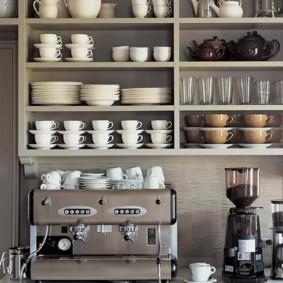 организация пространства на кухне фото дизайна