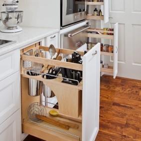 организация пространства на кухне дизайн идеи