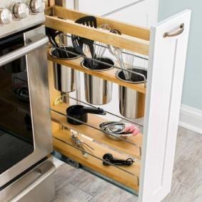 организация пространства на кухне идеи дизайн