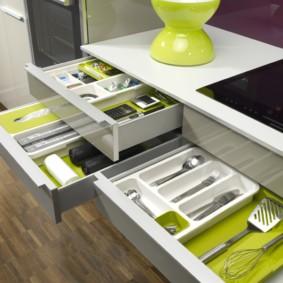 организация пространства на кухне идеи дизайна