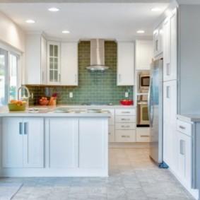 кухня в панельном доме виды идеи
