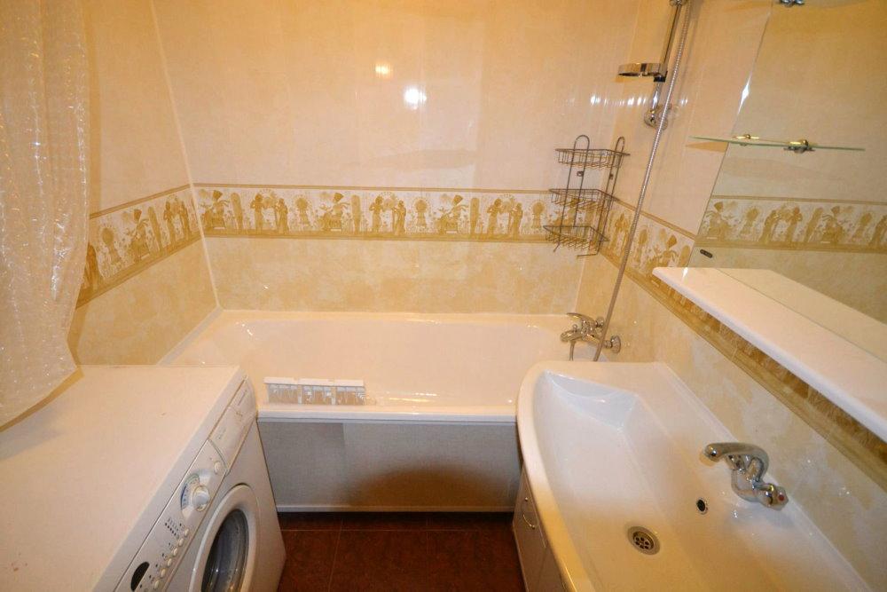 Отделка панелями стен ванной 4 кв метра