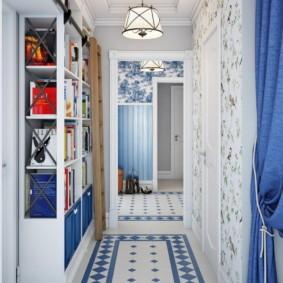 плитка на пол в коридор фото идеи