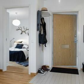 плитка на пол в коридор дизайн фото