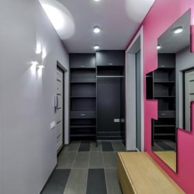 плитка на пол в коридор фото дизайн