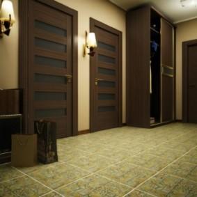 плитка на пол в коридор идеи интерьера