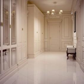плитка на пол в коридор оформление