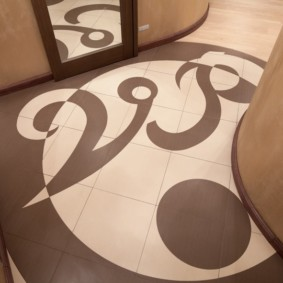 плитка на пол в коридор оформление идеи