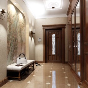 плитка на пол в коридор идеи оформление