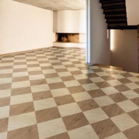 плитка на пол в коридор фото вариантов