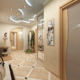 плитка на пол в коридор виды фото