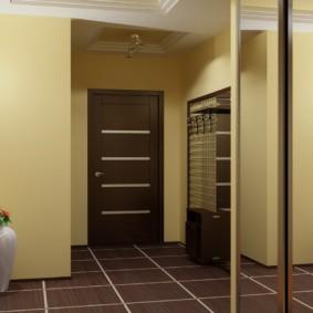 плитка на пол в коридор виды идеи