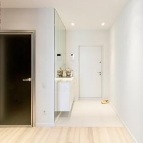 плитка на пол в коридор идеи фото