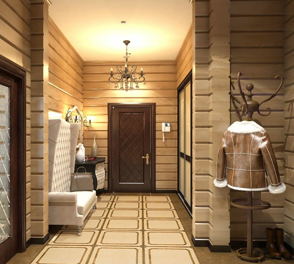 приобретением пароварки коридор в деревянном доме дизайн фото коры