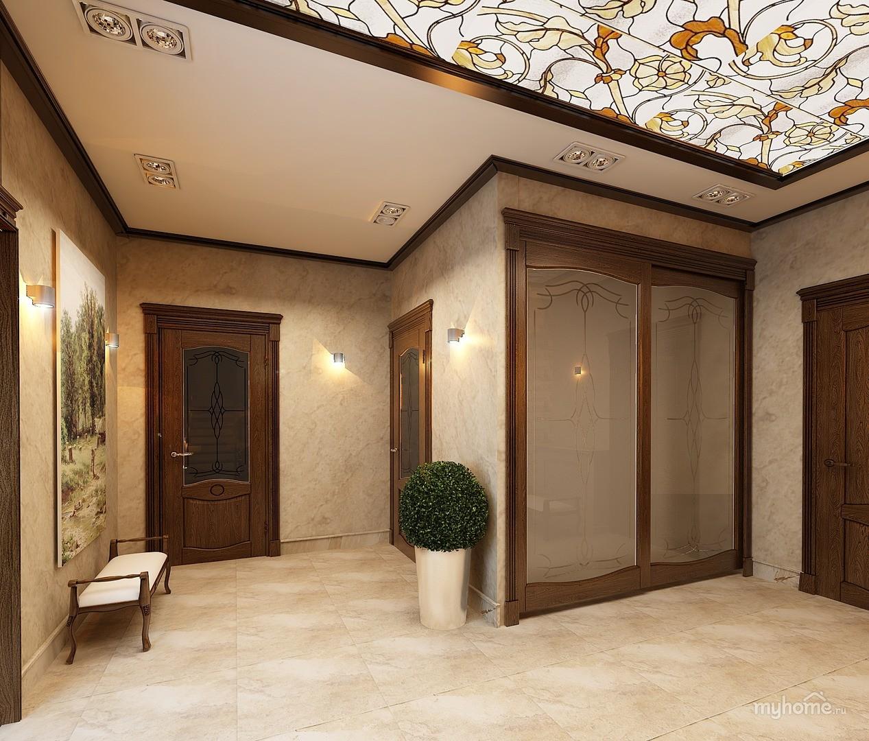 дизайн холла в частном доме фото его