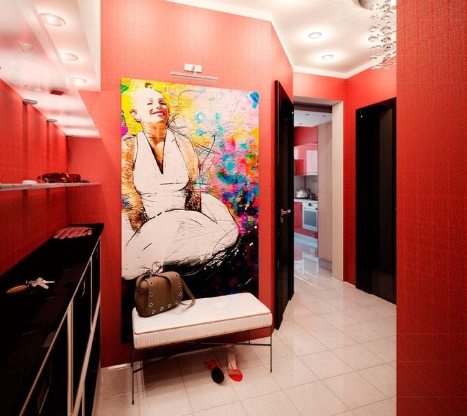 прихожая в квартире в панельном доме идеи дизайн