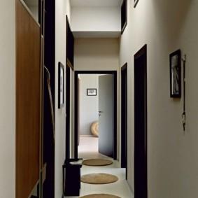 прихожая в квартире в панельном доме интерьер идеи