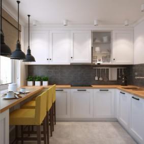 кухня в панельном доме идеи виды