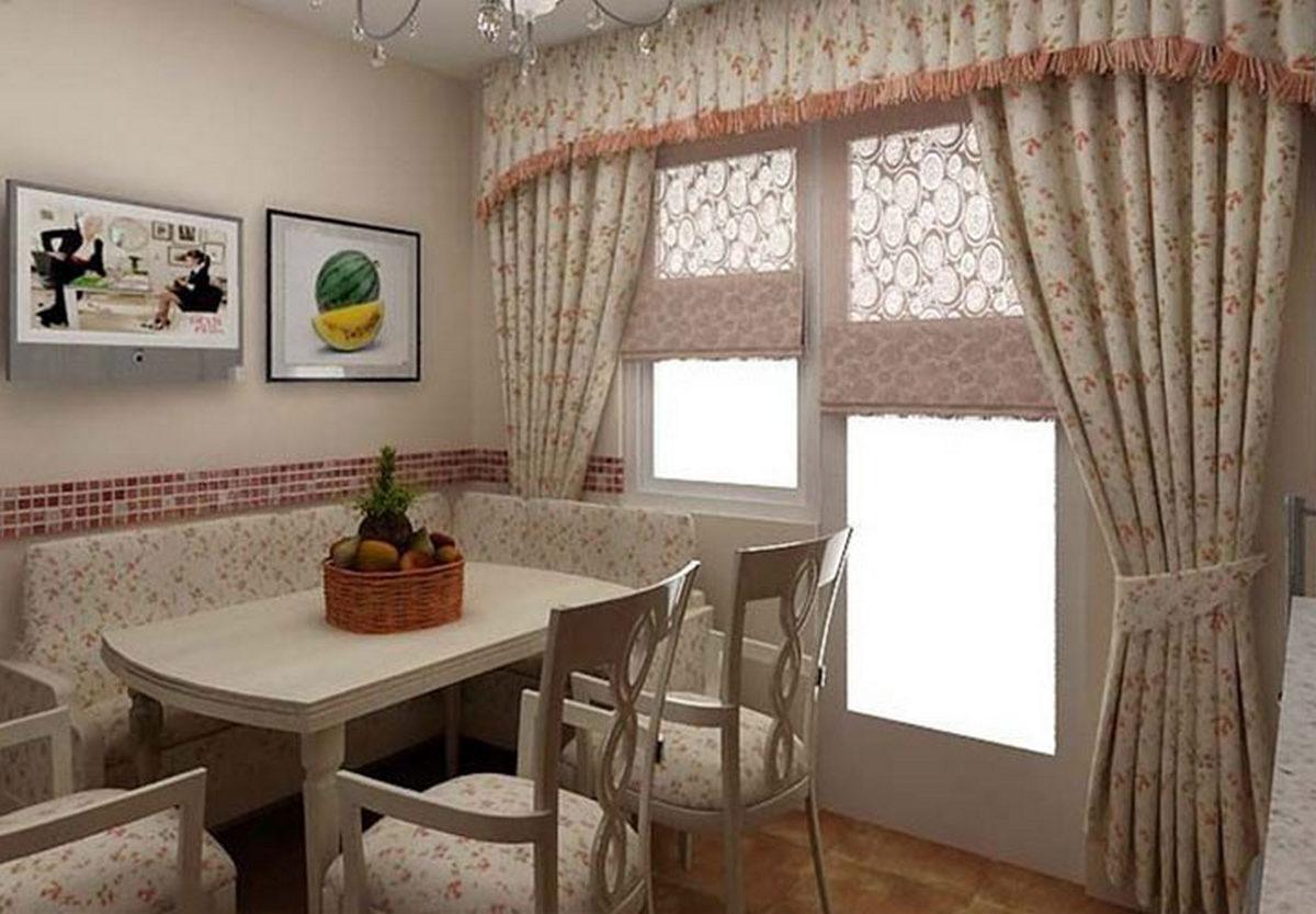 появлением шторы на кухню в стиле прованс картинки девушкой сидят нас
