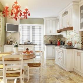 шторы для кухни в стиле прованс идеи оформление