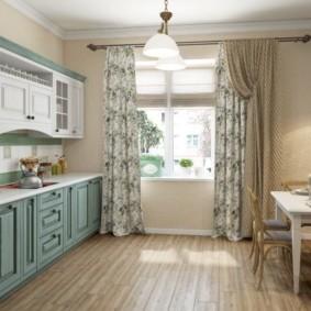 шторы для кухни в стиле прованс фото варианты