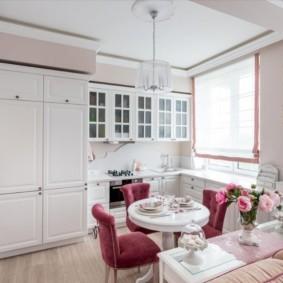 шторы для кухни в стиле прованс виды идеи